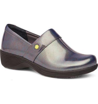 Dansko Camellia Grey Prism Patent Shoe