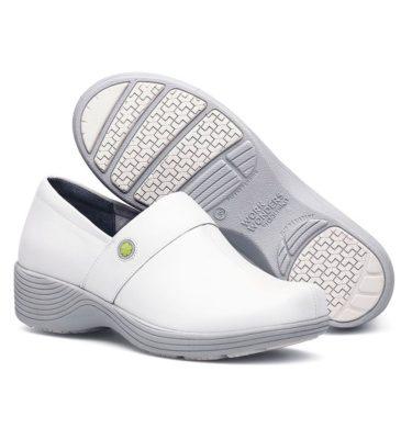 Dansko Camellia White Leather Shoe
