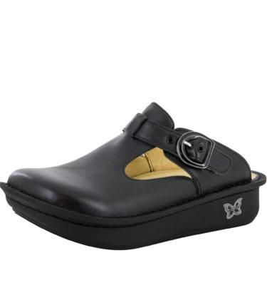 Alegria Classic Black Nappa Shoe