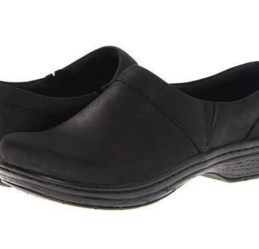 Klogs Mission Black Oil Shoe