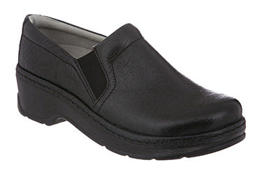 Klogs Naples Black Patent Shoe