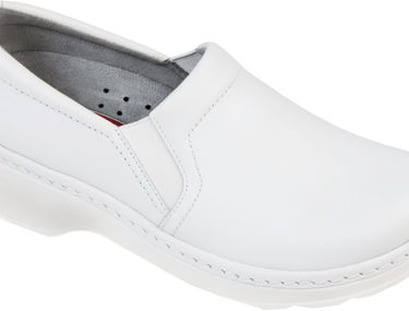 Klogs Naples White Smooth Shoe