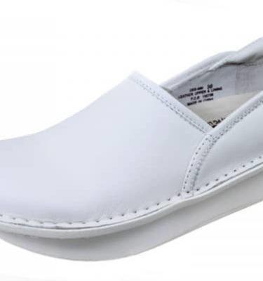 Alegria Debra White Nappa Shoe